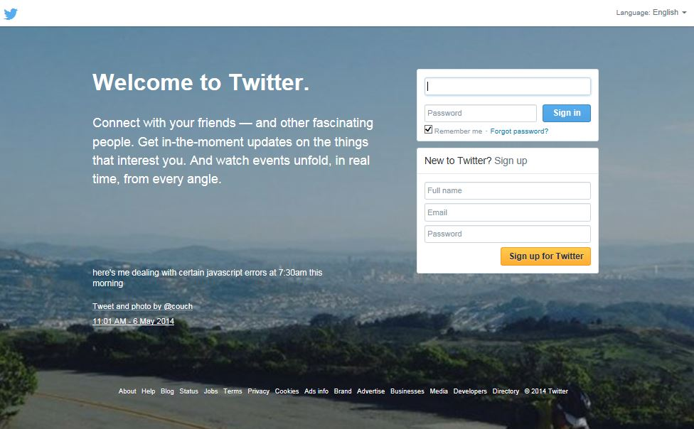 How to start building a following on Twitter.