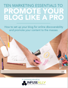 Free ebook: Ten Marketing Essentials to Promote Your Blog Like a Pro